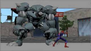 Ultimate SpiderMan Part 3 HD - Like A Rhinoceros. But Bigger. & Inexpungible