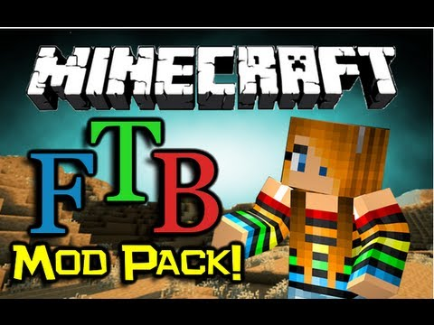 Minecraft - FEED THE BEAST MOD PACK! - Overview - An Alternative To Tekkit?