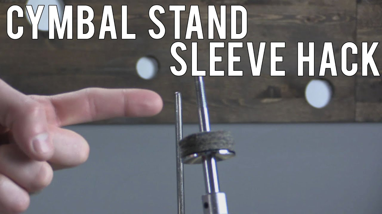 Drum Hack Lost Cymbal Stand