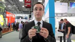 Gregory Camuzat, Freescale Semiconductor at electronica 2012