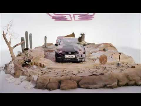 Honda Civic Hot & Cold Film | AutoMotoTV