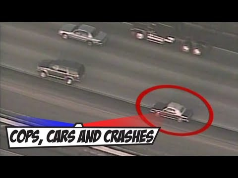 New Jersey Car Chase ends in Crash Video