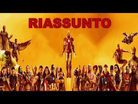 L' Universo Cinematografico Marvel - Riassunto