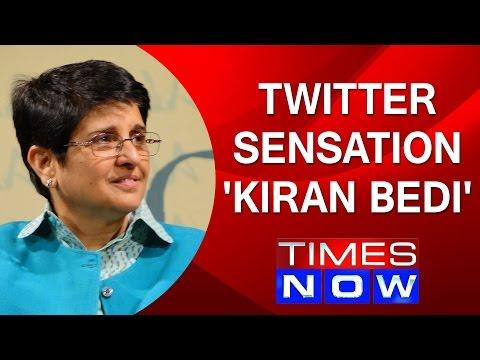 Kiran Bedi Speaks To Arnab Goswami: Twitter Sensation