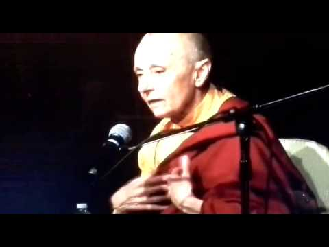 Tenzin Palmo talk - Part 1