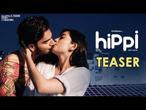 Hippi Movie Teaser | Karthikeya | Digangana Suryavanshi | Jazba Singh | TN Krishna | V Creations thumbnail