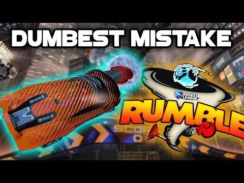 I MADE THE DUMBEST MISTAKE | Rocket League