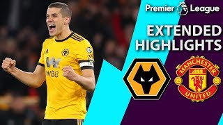 Wolves v. Man United   PREMIER LEAGUE EXTENDED HIGHLIGHTS   4/2/19   NBC Sports