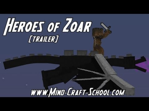 Mind Craft School - RPG - Minigames - Survival - Creative - Redstone classes Trailer