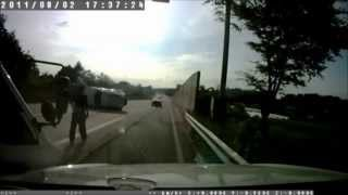 Motorway Car Crash Southkorea