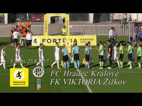 Sestřih z utkání FC Hradec Králové - FK Viktoria Žižkov 4:1