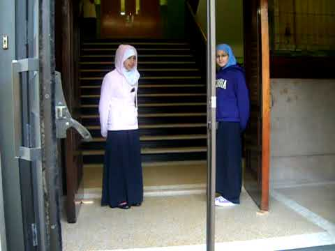 Morning Greeting @ Noble Leadership Academy by Noran Elbeyali & Sarah Elfarra - 11/09/2009