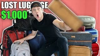 I Bought $1000 Lost Luggage at an Auction and Found This… (Buying Lost Luggage Mystery Auction)