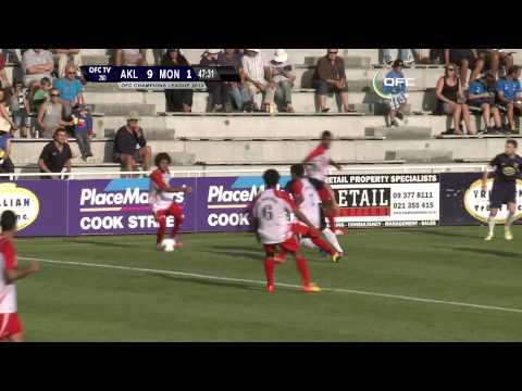2013 OFC Champions League 2013.04.13 Auckland City FC vs AS Mont Dore