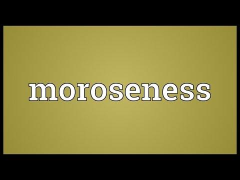 Header of moroseness