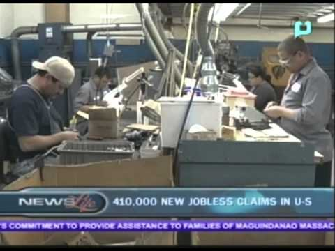 410,000 new jobless claims in US