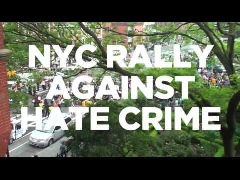 NYC Rally Against Hate Crime - Part 2 (RIP MARK CARSON) May 20, 2013