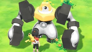 Pokémon Let's Go Pikachu and Let's Go Eevee - CATCHING MELMETAL (how to)