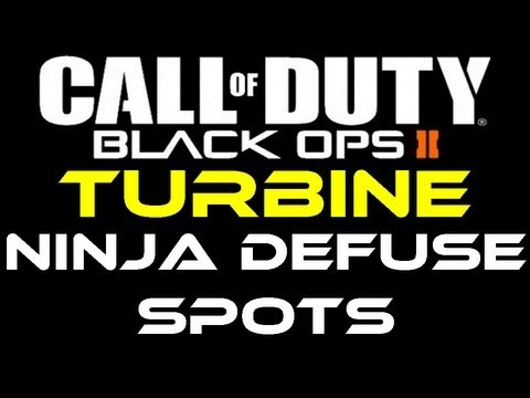 Black Ops 2 - Turbine Ninja Defuse Spots / Tutorial by Product Shard