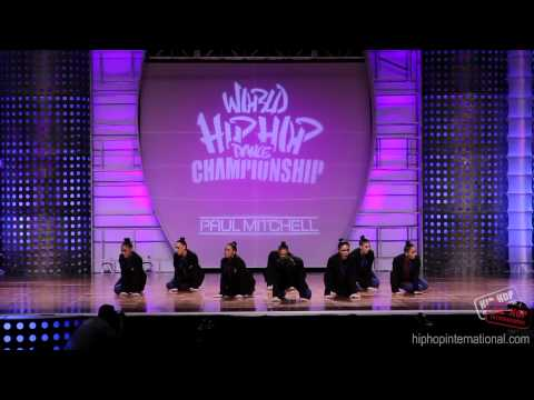 Sorority (new Zealand) 2012 World Hip Hop Dance Championship (varsity) video