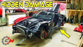 "Rebuilding a Wrecked 2016 Corvette Z06 (Part 2)   ""Still a Better Deal Than Copart"""