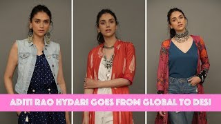 Aditi Rao Hydari Goes From Global To Desi In Seconds