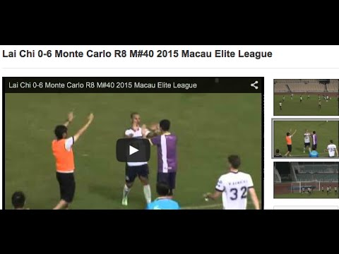 Lai Chi 0-6 Monte Carlo R8 M#40 2015 Macau Elite League