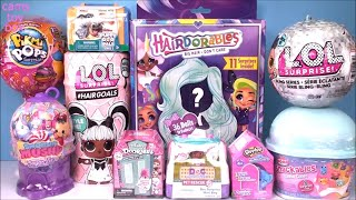 LOL Surprise HairGoals Hairdorables Bling Series 5 Smooshy Mushy NUM NOMS PIKMI POPS Unboxing TOYS