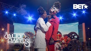"Tiana Major9 & EarthGang Move The Crowd With ""Collide"" Performance 