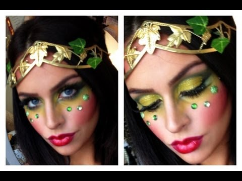 Poison Ivy / Eve Halloween Makeup Tutorial