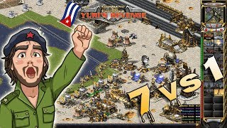 Red Alert 2 - Lucky City Map - 7 Brutals vs 1 + Superweapons