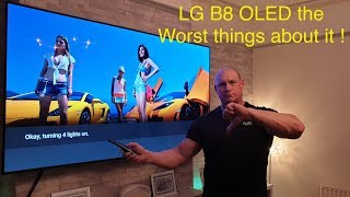 LG B8 OLED,the WORST things about it  !