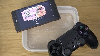 GTA San Andreas Under Water Sony Xperia Z3 PS4 Controller Gameplay Review