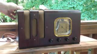 1938 Belknap Model 623 Radio