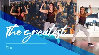 download lagu The Greatest - Sia - Easy Fitness Dance Choreography gratis