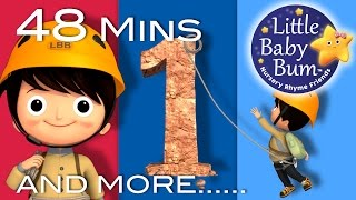 Number 1 Song | Plus Lots More Nursery Rhymes | 48 Minutes Compilation from LittleBabyBum!