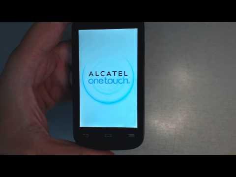 Alcatel One Touch Pop C3 4033X - How to reset - Como restablecer datos de fabrica