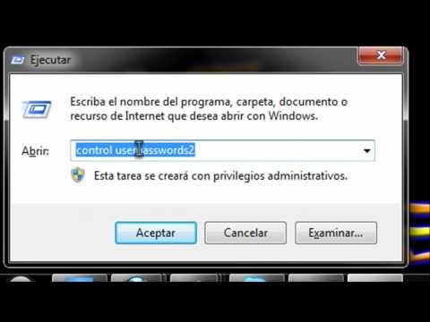 como hacer una cuenta de ususario en windows 7