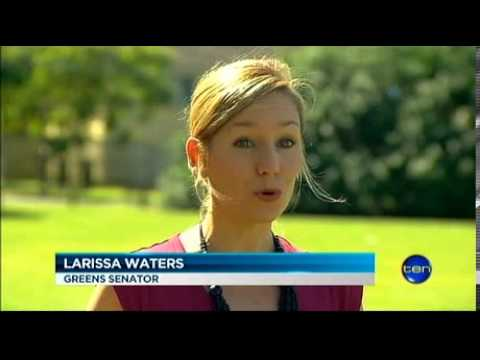 Larissa on 10 news: Great Barrier Reef under threat