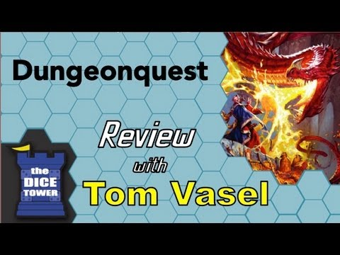 Dungeonquest Review - with Tom Vasel