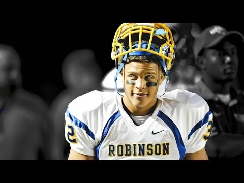 "Football Highlights of Running Back Joseph ""Joe"" Wilson During His, Sophomore, Junior, and Senior Years at James W. Robinson High School In Fairfax, Virginia..."