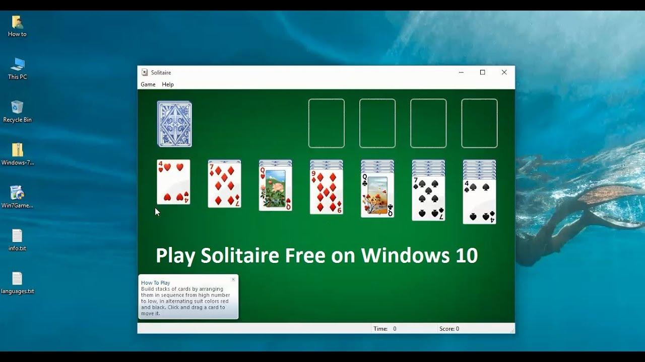 скачать solitaire для windows 7