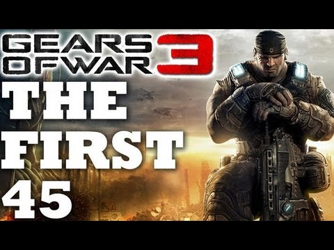 Gears of War 3: The First 45 Minutes of Gameplay w/ Commentary [HD]
