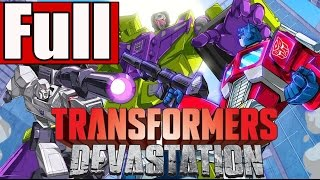 Transformers Devastation Full Game Walkthrough No Commentary PS4