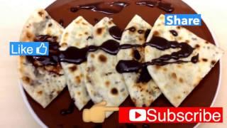 Chocolate paratha/porota