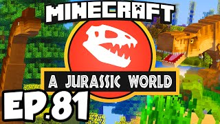 Jurassic World: Minecraft Modded Survival Ep.81 - SO MANY BABY CARNIVORES!!! (Dinosaurs Modpack)