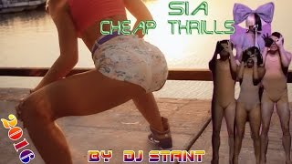 DJ Stant feat Sia - Cheap Thrills (Club Remix Edit) / Electro House Music & Best Dance Music 2016