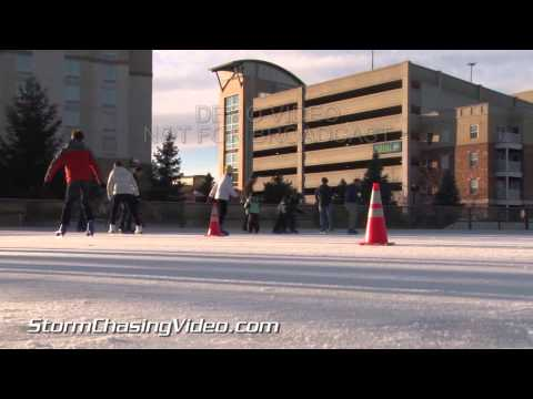 2/23/2014 Ice Skating West Lafayette IN B-Roll