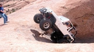 Jeep crash in Moab - NO ONE WAS HURT!!!!!!!!!!......much!