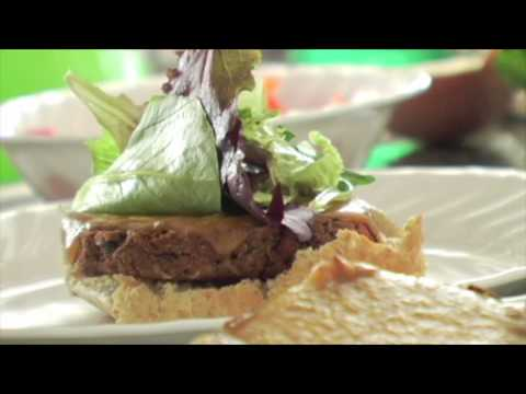 Ballin' Black Bean Burgers with Chipotle Mayo